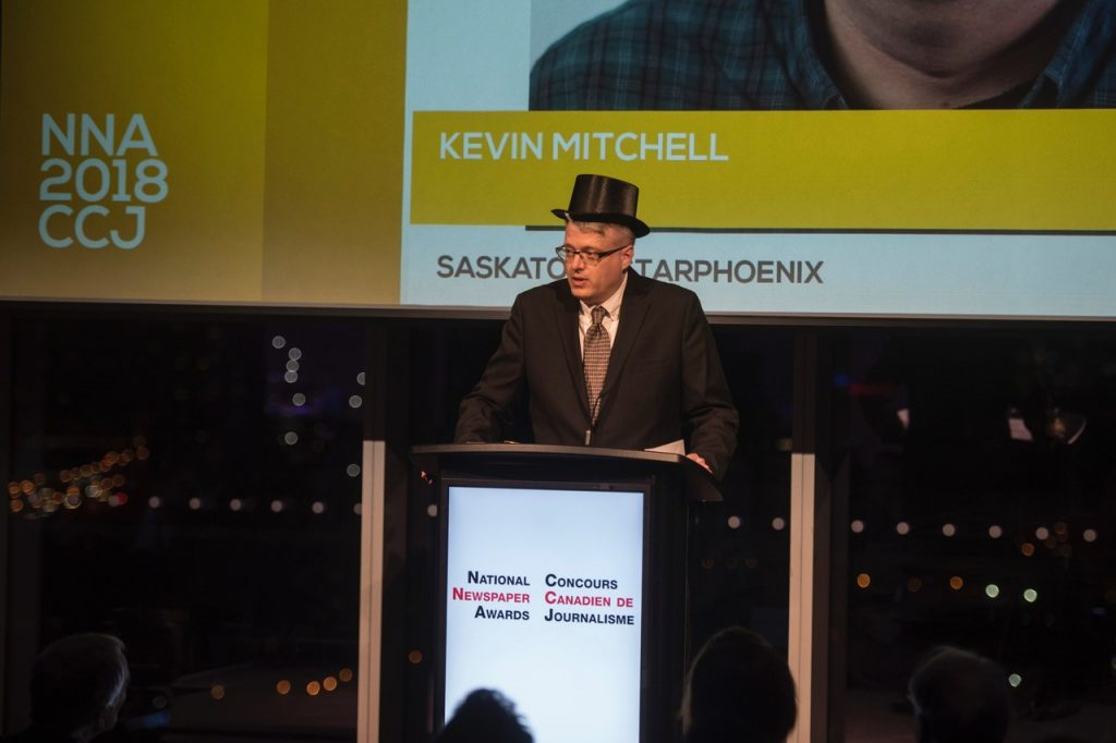 Kevin Mitchell 2018 Journalist of the Year